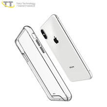Hard crystal tpu pc cover for iphone x case free sample hybrid team