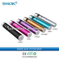 New vv mod 2014 Smok ACE vv/vw MOD latest new smoktech variable voltage ecig mod vv gripper