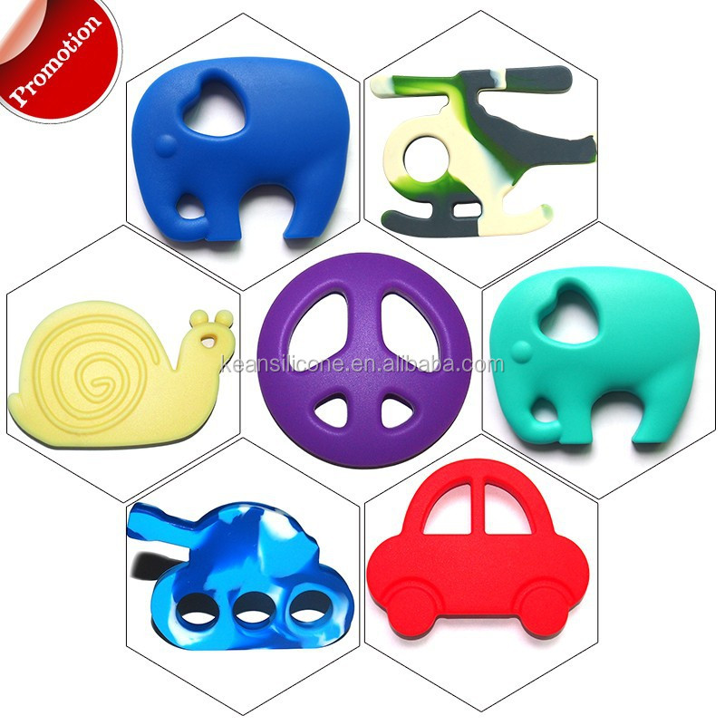 Eco-friendly chewing soft teether toys raw material price silicone
