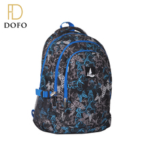 Direct factory daily fashion hidden compartment school bag backpack