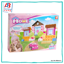 Educational kids Building Block Puzzle DIY Toys For Girls