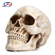 Wholesale Plastic Skeleton Halloween Decoration Resin Foam Skull