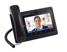 Grandstream 6-line wireless wifi IP multimedia video door phone,skype video phone wifi GXV3275 with Android OS