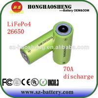 super quality cylindrical lifepo4 a123 anr26650m1a battery
