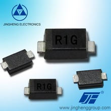 R1A R1B R1D R1G R1J R1K R1M SOD-123FL package 1Amp SMD SUPER FAST RECTIFIER DIODE with GPP chip