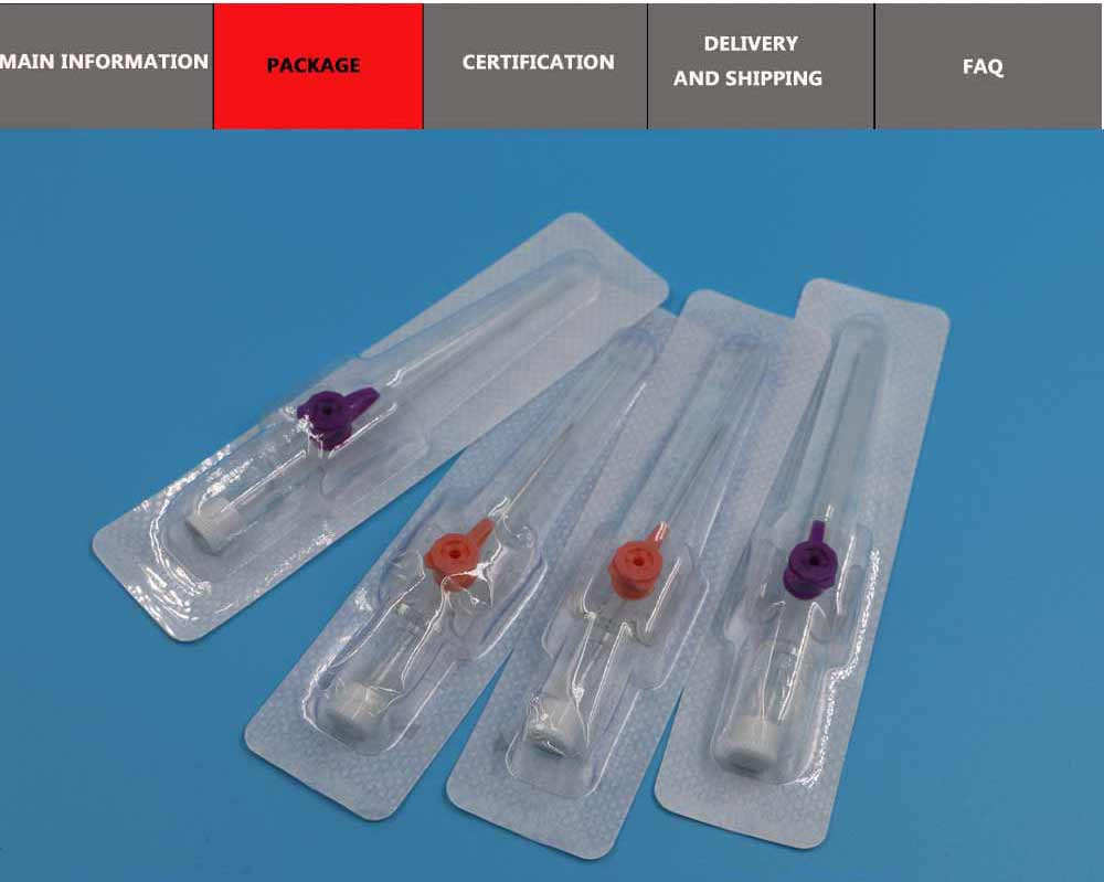 Piercing I.V catheter needles