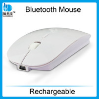 In stock! High Quality Portable Rechargeable Bluetooth 3.0 Wireless Mouse for laptop