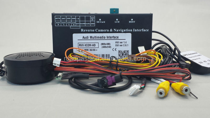 A4 LVDS Video Interface For AUDI Touch Screen Operation GPS Navigation