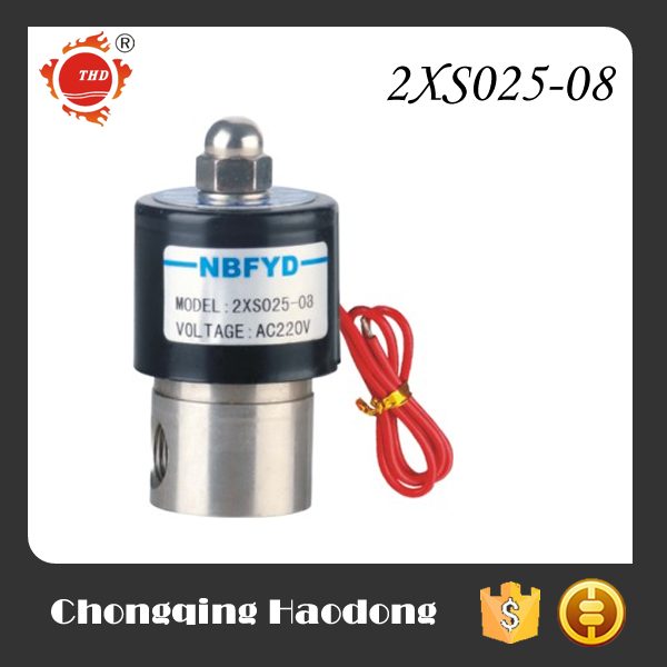 Direct acting gasoline viton solenoid valve with CE