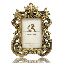 new model vintage resin gold home decor picture photo frame