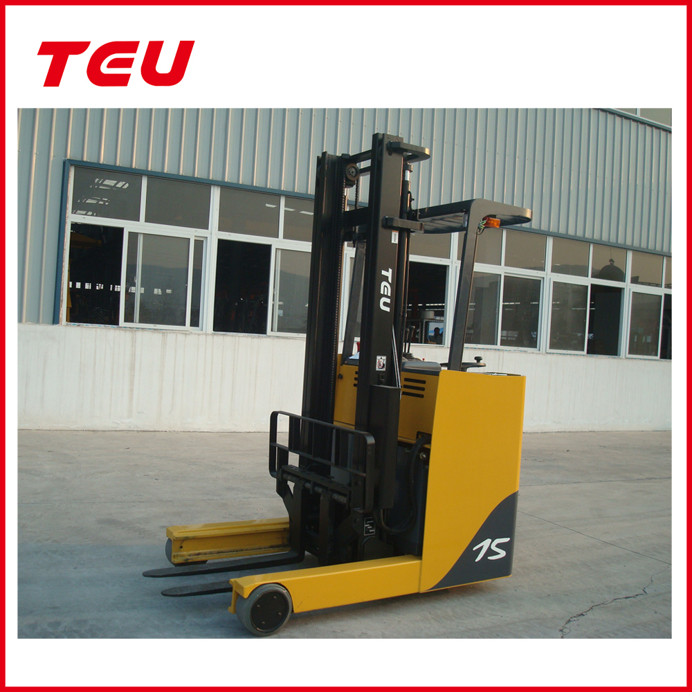 chinese made 1.5 ton battery reach forklift