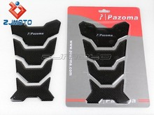Universal Motorcycle Cool Fashion Style Tank Protector Pad Carbon Fiber Fits cbr gsxr Hayabusa r1 zx14 r6 z1000 z800 yzf
