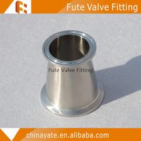 ISO clampe reducer elbow pipe fitting
