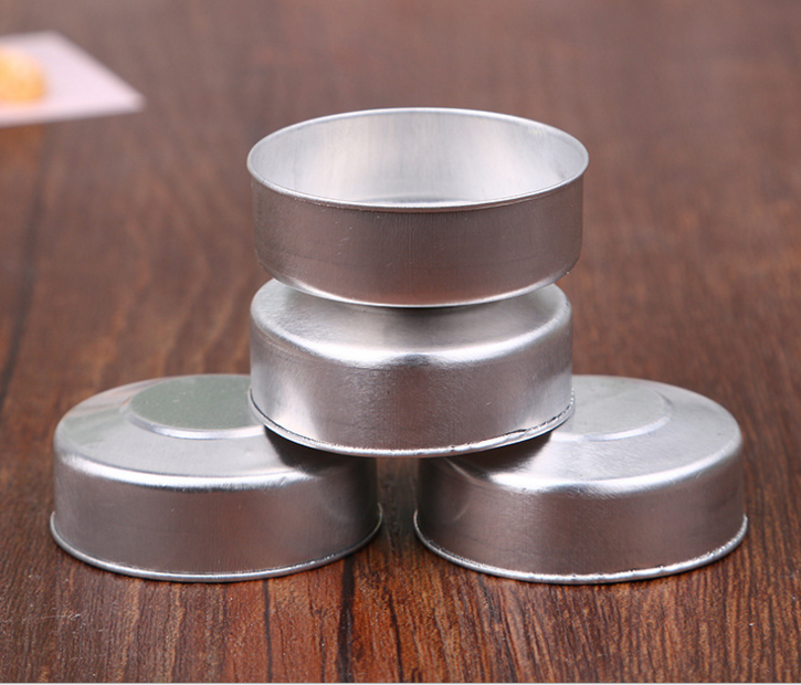 China good price high quality empty aluminium tealight candle holder cups