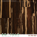 eco forest tiger strip strand woven bamboo flooring