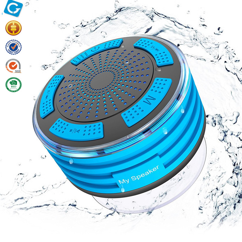 MOMOCA BSCI Factory Waterproof IP67 ABS+silicone Mini Wireless Bluetooth Speakers for smartphone