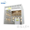 Detian offer 3x3m trade show display stand exhibition booth