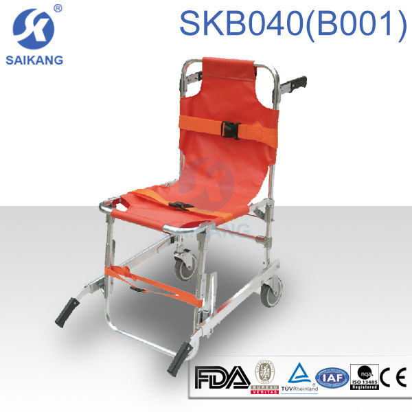 emergency medical stair chair,medical resuce stair chair stretcher