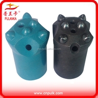 Tungsten carbide material left hand drill bit for mining or tunnel project