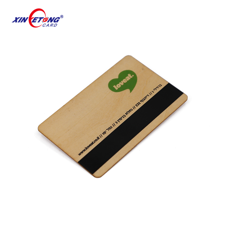 RFID Wooden business cards printing for laser cut greeting name cards hot selling!
