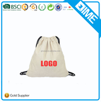 Alibaba China Top Sell Cotton Drawstring Bag With Your Logo