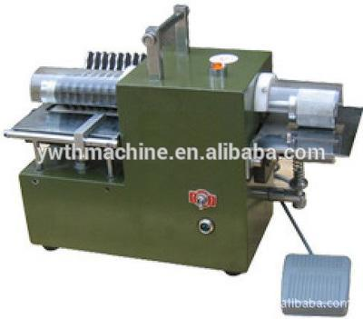 Small Table Leather Splitter Leather Strip Cutting Machine
