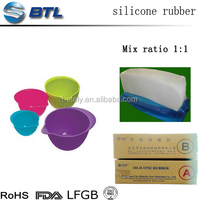 Moulding silicone rubber prices of rubber compound for food-grade