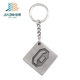 custom antique silver decorative metal game key chain with cancun letters