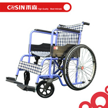 standard hospital patient used wide wheels wheelchair