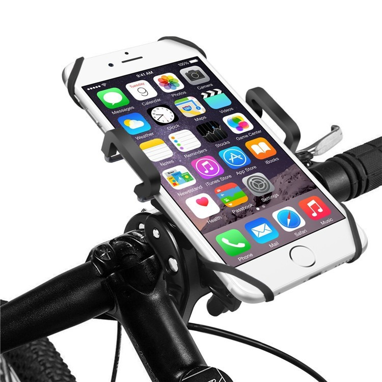 Smartphone Bicycle Handlebar Phone Stand Adjustable Universal Holder