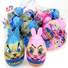 Funny toy egg candy and rabbit toy candy for kids