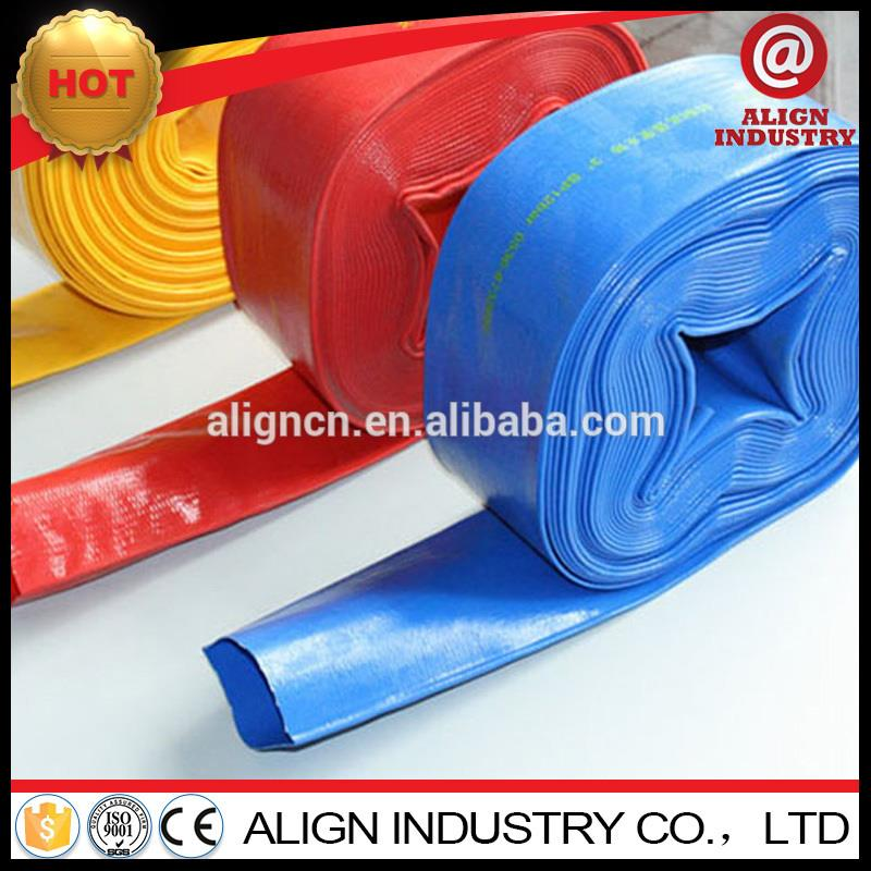 Hot selling 5 inch diameter flat pvc pipe made in China