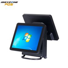 Hot sale 15 Inch All in One Touch Screen TFT LCD POS System Cashier Register Point Of Sale For Restaurant