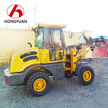 Agricultural 1 ton CE Approval Mini wheel loader tires weight/1 ton loader