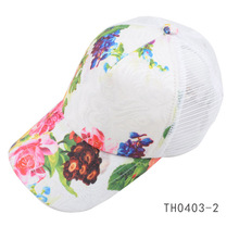 TOROS 15 Years Production For Fashion Printing Plastic Back Closure Mesh Baseball Cap Hat Caps