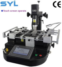 Hot sale model S60 BGA rework station CE certificated BGA reball equipment