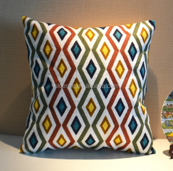 New Knitting Embroidery Pillow Cover