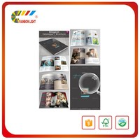 Trade assurance supplier full color printing beautiful clothes catalogue brochure
