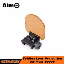AO7007 scope accessory universal Folding Lens Protection scope dot Sight Lens
