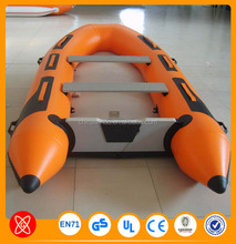 used inflatable boat tent price with outboard motor sale
