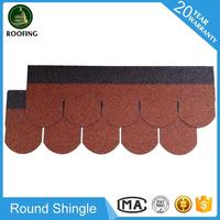 Wholesale Round roofing tile,roofing material asphalt shingles for house roof