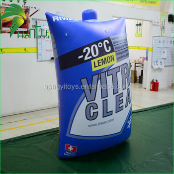 Wonderful Design Custom-made Inflatable Promotion Bag / Advertising Display Air Inflatable Ice Bag Model