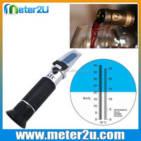 0-25%Vol,0-40%Brix handheld digital refractometer wine Grape and Alcohol Refractometer