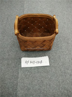 Wholesale Cheap Woven Wooden Fruit Basket With Handle