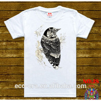 Blank Wholesale Sure T-shirt White T-shirt Animal Printed