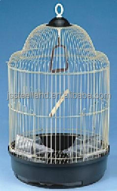 easy to cleaning round metal wire bird cage pet products