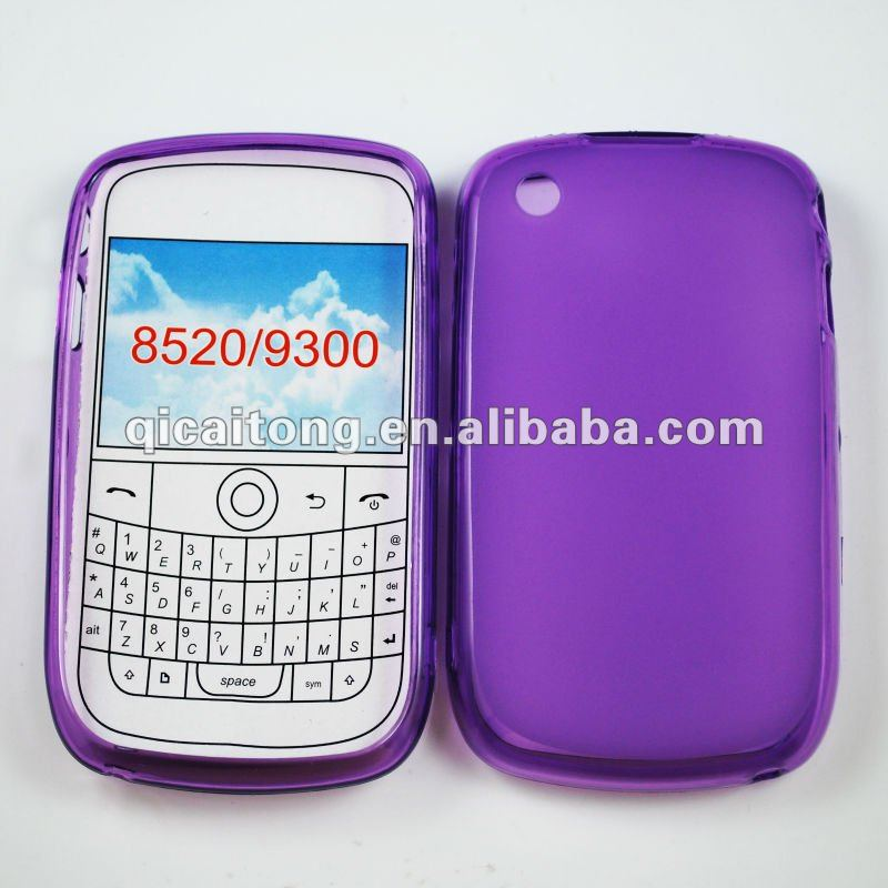 cellphone tpu puding/jerry case for Blackberry 8520/curve
