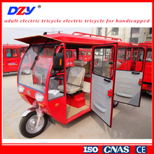 Gasoline High Performance Electric Motor Tricycle For Passenger