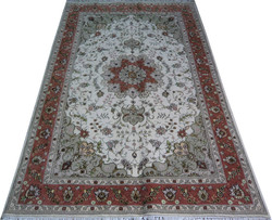 resturant decoration 4x6ft 100% handknotted red wool rugs