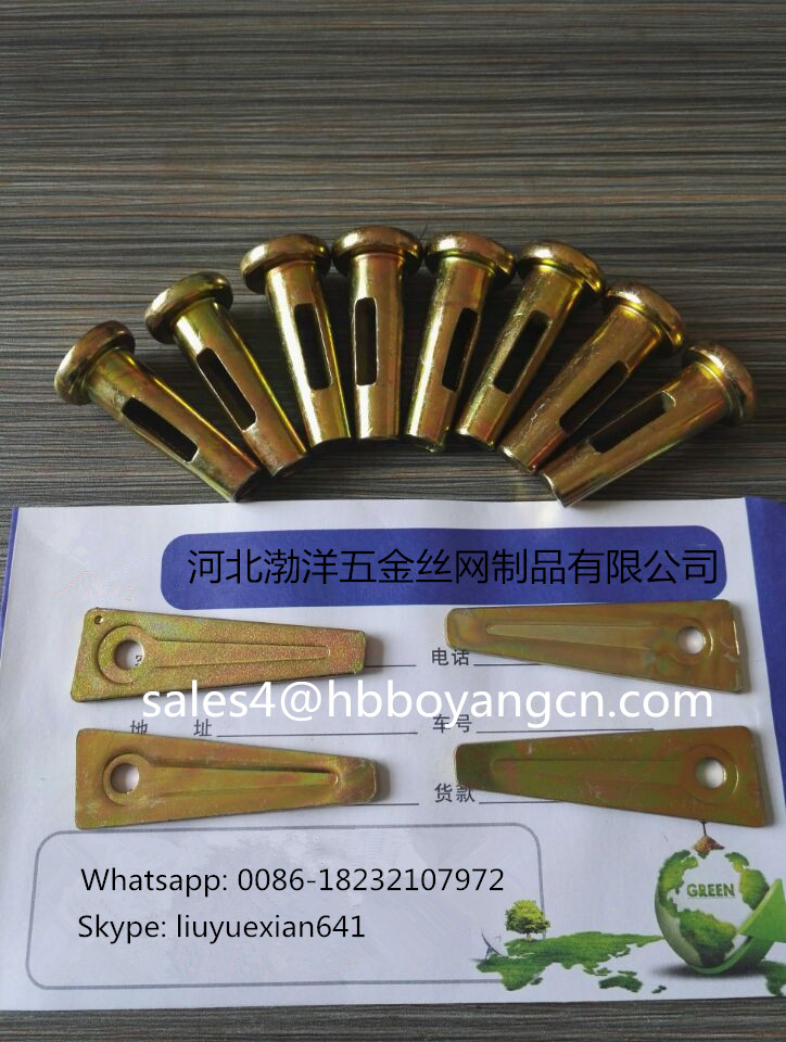 Construction scaffolding wedge pin for formwork (10 years factory)